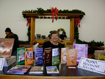 Barbara Rollins, at Quanah, Texas, Christmas Festival 2009