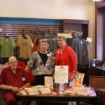 Book signing, Texas Star Trading Company with authors Doug and Ruth Sellers